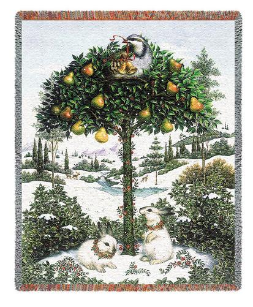 Partridge in a Pear Tree Throw