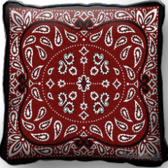 Americana Bandana Pillow