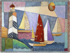 Bay Regatta Tapestry