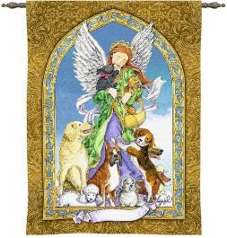 Guardian of the Dog Wall Hanging