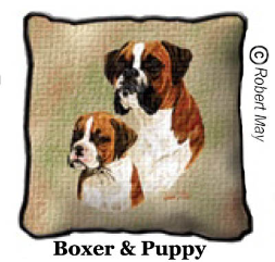 Boxer & Puppy Portrait