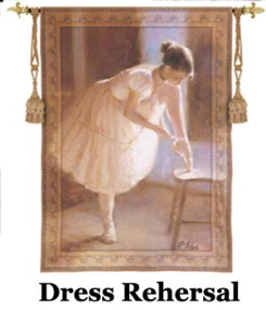 Dress Rehersal Wall Hanging & Throw