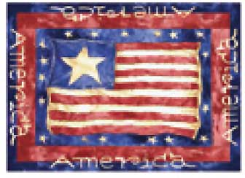 Old Glory Place Mat