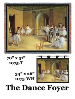 The Dance Foyer  Wall Hanging & Throw
