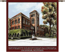 Univ of Southern California Bovard Wall Hanging