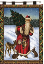 FATHER CHRISTMAS WALL HANGING    677-WH