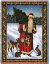 FATHER CHRISTMAS THROW    677-T