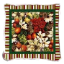 MAGNOLIA POINSETTIA PILLOW     2412-P