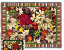 MAGNOLIA POINSETTIA THROW    2412-T