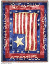 Old Glory Throw (SKU: 773-T)
